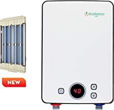 Sio Green IR30 v2 POU Infrared Electric Tankless Water Heater - None Corrosion - Extends The Life of Tankless Water Heaters 120v / 8A - 30A/3.4kW - For Hand Wash and Sink Only