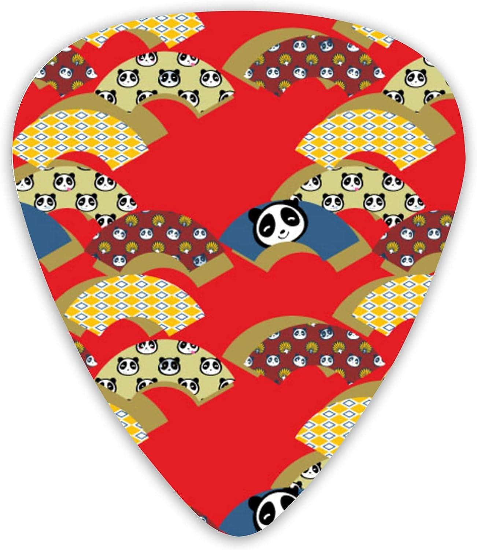 Cute Panda Guitar Picks Music Thin Hea Import sale Medium Includes And
