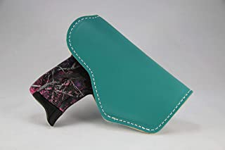 JM4 Tactical Magnetic Holster Teal Left Hand Medium | Great for Ruger LC9 | Glock 43 | Beretta Nano | Walther P22 & More!