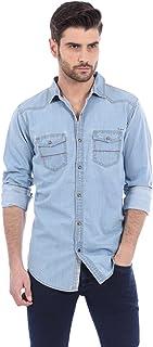 BASICS Men's Slim Fit Shirt
