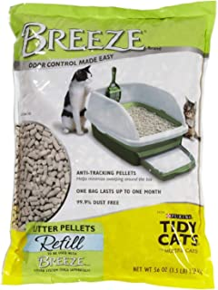 Tidy Cats Breeze Cat Litter Pellets - 3.5 pounds, 2 Packs