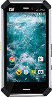 CAT PHONES Caterpillar S50C Rugged Waterproof Black 8GB - Black Smartphone for Verizon Wireless