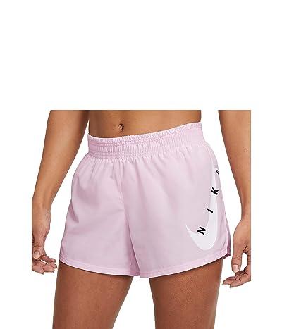 Nike Swoosh Run Shorts (Pink Foam/White) Women