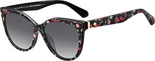 Kate Spade Women's 201192 Sunglasses, Color: Ptt Black, Size: 56