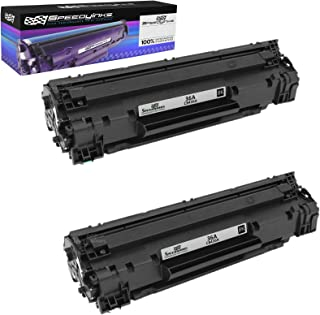 Speedy Inks Compatible Toner Cartridge Replacement for HP 36A CB436A (Black, 2-Pack)