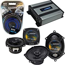 $196 » Sponsored Ad - Compatible with Ford Bronco II 1983-1988 Factory Speaker Replacement Harmony Bundle R4 R68 & HA-A400.4 Amp