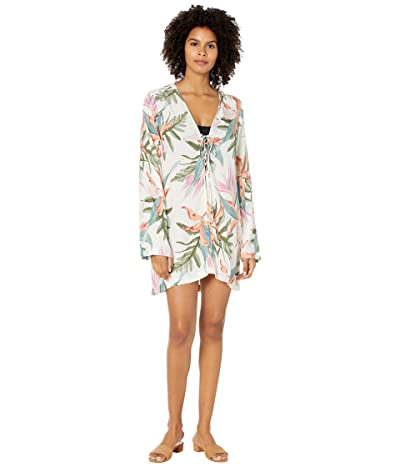 Hurley Hana Lace-Up Cover-Up (Pink Glow) Women