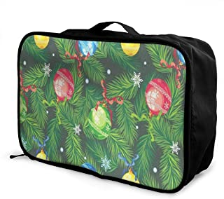 Travel Bags Watercolor Pineapple Fruit Abstract Portable Foldable Designer Trolley Handle Luggage Bag