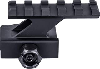 Monstrum Lockdown Series Picatinny Riser Mount | 2.2 inch | 5 Slot | High Profile