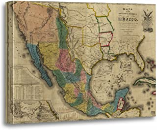 Best the mexican wall map Reviews