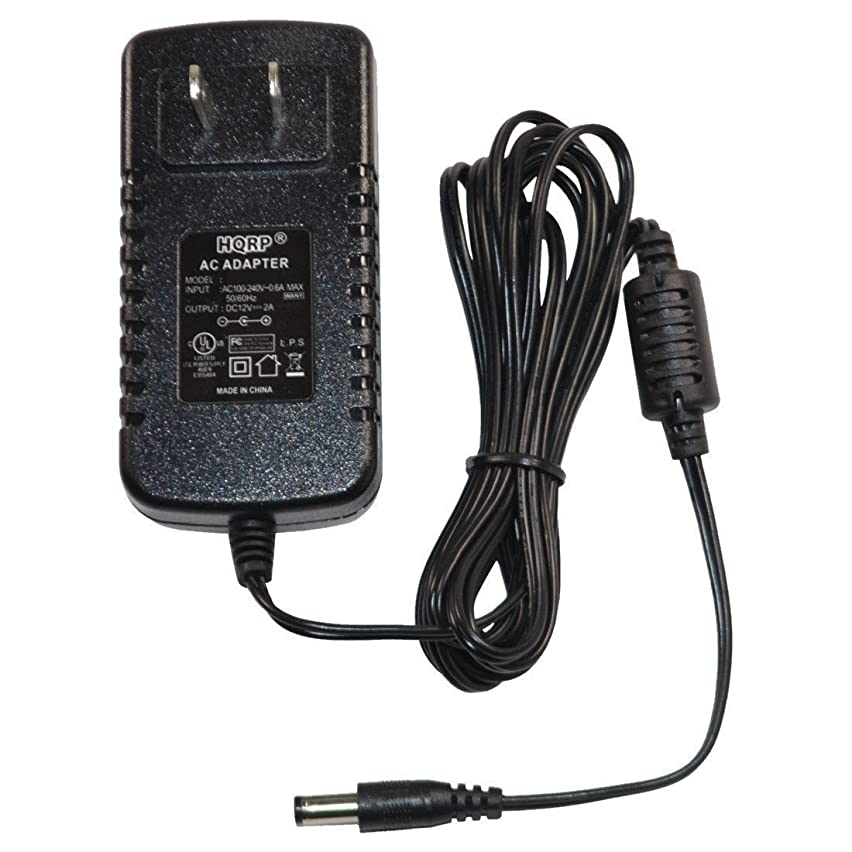 HQRP AC Adapter for Grace Digital Allegro GDI-IRD4000 Portable Wireless Internet Radio Featuring Pandora, Power Supply Cord + Euro Plug Adapter