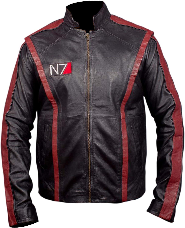 Flesh & Hide F&H Men's Mass Commander Genuine Leather Jacket