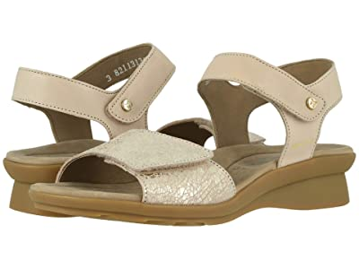 Mephisto Pattie (Light Taupe Silk/Nude Crash) Women