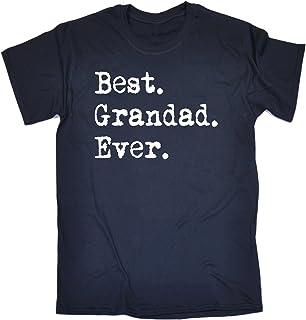 123t Funny Novelty Men's Best Grandad Ever T-Shirt