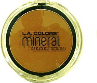 L.A. COLORS MINERAL PRESSED POWDER MP312 TOFFEE by LA Colors
