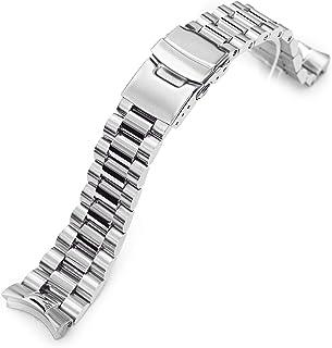 Endmill - Bracciale in metallo per Seiko SKX007 spazzolato e lucidato