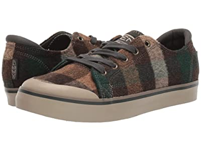 Keen Elsa III Sneaker (Brown Plaid/Climbing Ivy) Women