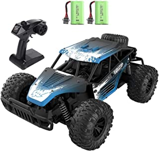 Remote Control Car for Boys 8-12, EACHINE EC16 1/16 RC Off Road Truck 2WD RC High Speed Cars with 2 Batteries Runs 45 Mins...