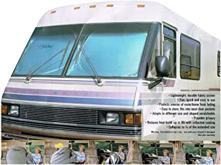 Newport West RV Motorhome Reflective Collapsible Sunshade (1pc Shade 2 Rings)- 90