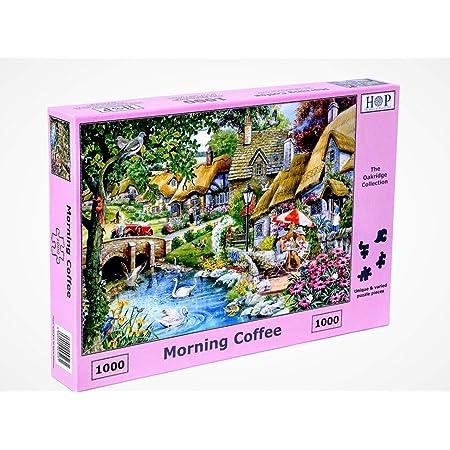 Maison de puzzle 1000 Piece Jigsaw Puzzle-Tante Daisy commode