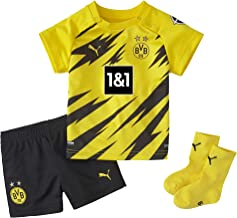 PUMA Bvb Home Baby-kit W.sponsor W.hanger New T-Shirt Unisex Kinderen