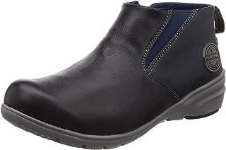 [ムーンスター] 防水 防滑ソール スニーカー 靴 エバックスN サラリーナ 抗菌防臭 中敷 RPL002 レディース ブラック 24 cm 2E