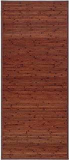 Alfombra pasillera Industrial marrón de bambú de 75 x 175 cm Factory - LOLAhome