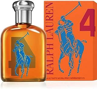 The Big Pony Collection # 4 by Ralph Lauren for Men Eau De Toilette Spray, 2.5 Ounce