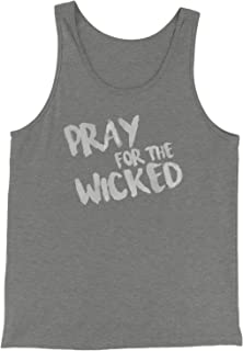 Expression Tees Pray for The Wicked Jersey Tank Top for Men