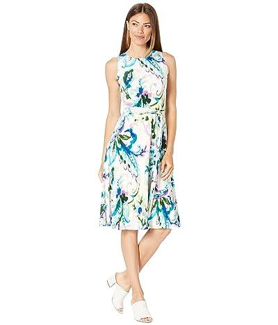 LAUREN Ralph Lauren Paisley Jersey Dress