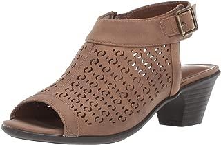 Easy Street Women's Jill Dress Casual Sandal with Cutouts Heeled