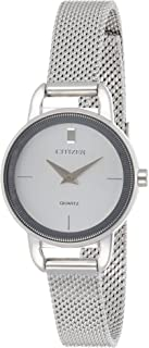 CITIZEN Womens Quartz Watch, Analog Display and Stainless Steel Strap - EZ7000-50A