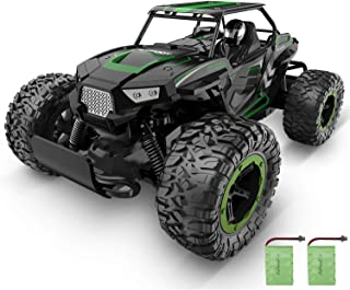 XIXOV RC Car, 1:14 Aluminium Alloy Kids Large Size High Speed Fast Racing Monster Vehicle Electric Hobby Toy Truck with Two Rechargeable Batteries for Boys Teens Adults