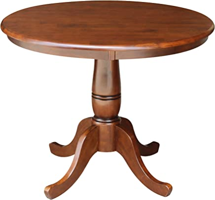 featured product International Concepts 36-Inch Round Pedestal Table,  30-Inch,  Espresso