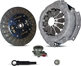 Clutch Kit With Slave Cylinder works with Suzuki Sx4 Base Crossover LE Sport JLX JX Sportback Sedan 2007-2010 2.0L l4 GAS DOHC Naturally Aspirated (5 Speed Transmission Only)