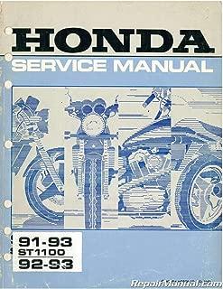 U61MT300 Used 1991-1993 Honda ST1100 and 1992-1993 Honda ST1100A Service Manual
