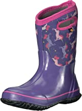 Bogs Kids Classic High Waterproof Insulated Rubber Rain and Winter Snow Boot for Boys,..