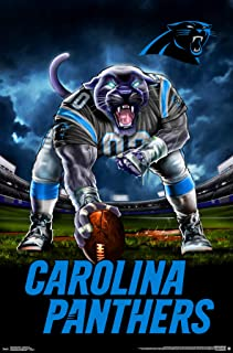 Trends International Carolina Panthers - 3 Point Stance Wall Poster, 22.375