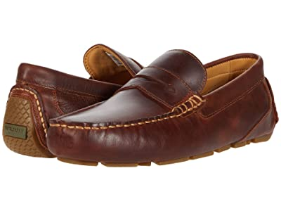 Sperry Gold Cup Harpswell Penny Loafer (Leather Brown) Men