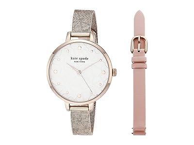 Kate Spade New York Metro Watch KSW1596SET (Rose Gold) Watches