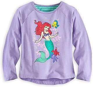 Store Ariel The Little Mermaid Sea Shirt Long Sleeve Tee for Girls