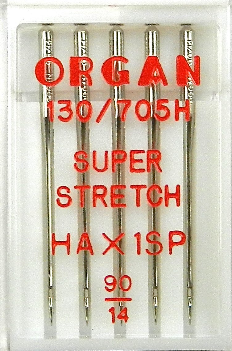 5 agujas Organ para máquinas de coser, HA x 1 SP/St. 90 Super ...