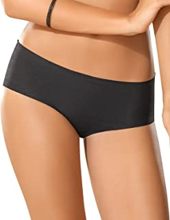 Women's Sexy Seamless Low Rise No Show Thong Panty