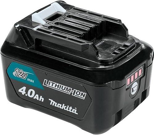 Makita BL1041B 12V max CXT Lithium-Ion 4.0Ah Battery, Black