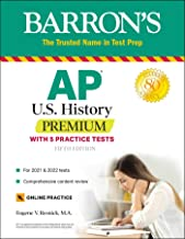 Download Book AP US History Premium: With 5 Practice Tests (Barron's Test Prep) PDF