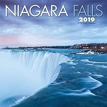 Niagara Falls 2019 12 x 12 Inch Monthly Square Wall Calendar by Wyman, Scenic Travel Nature Landmark Waterfalls