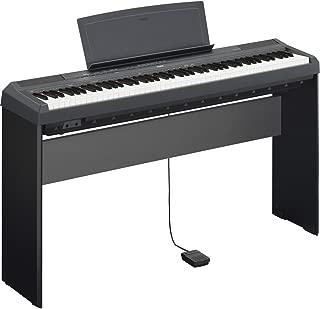 Yamaha P115B Bundle   88 Key Digital Piano Black L85 Keyboard Stand Bundle