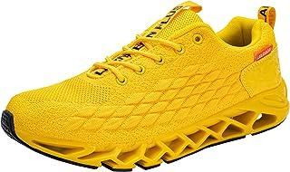 LARNMERN PLUS Chaussures de Sport Homme Respirant Léger Antidérapante Sports Sneakers Confortable Mode Baskets de Running ...