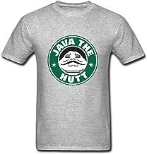 Hillet Men's Java The Hutt Cotton Graphic T-Shirt