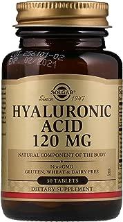 Solgar Hyaluronic Acid 120 mg 30 Tablets